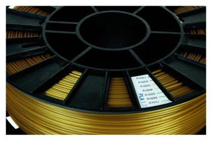 Пластик для 3D печати золотистый PLA REC