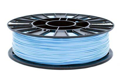 Пластик для 3D печати голубой PLA REC