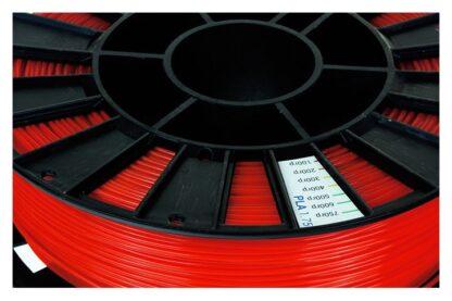 Пластик для 3D печати красный PLA REC