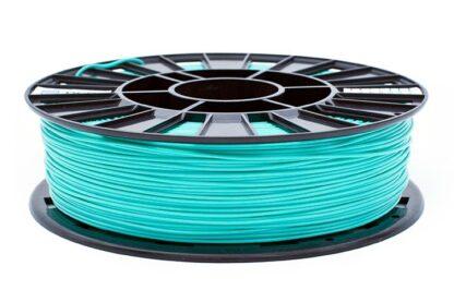 Пластик для 3D печати бирюзовый PLA REC