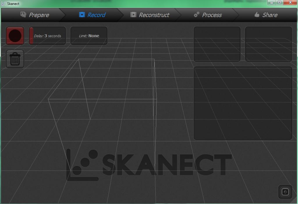 skanect 1024x702 - 3D-сканирование фигуры человека с использованием  PrimeSense сенсора от Xbox360